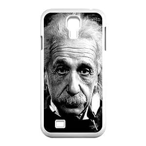 Samsung Galaxy S4 9500 Cell Phone Case White Einstein J3434064