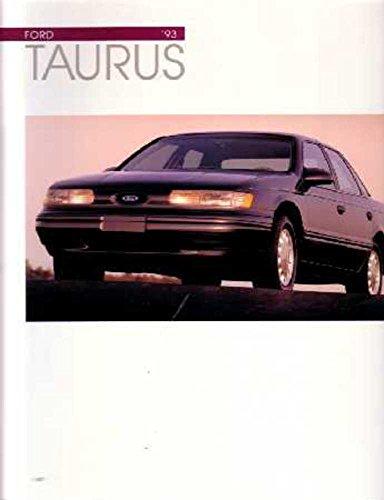 - 1993 Ford Taurus Sales Brochure Literature Book Piece Dealer Advertisement