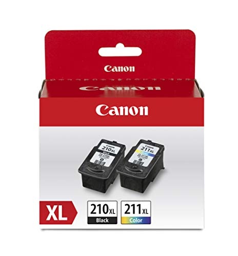 Canon PG-210 XL / CL-211 XL Amazon Pack (Canon Mp495 Ink)