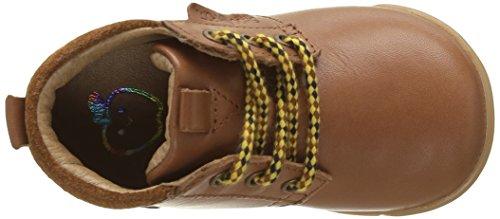 Shoo Pom Trot Desert - Zapatos de primeros pasos Bebé-Niñas Marrón - Marron(Lipiz Caramel)