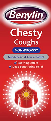 Benylin Chesty Cough Non-Drowsy Mixture Syrup - 300ml (Best For Chesty Cough)