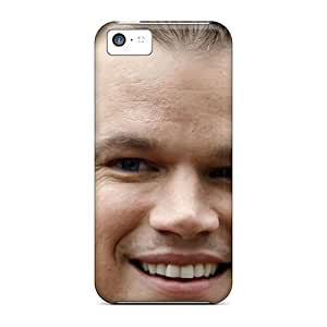 Iphone High Quality Tpu Case/ Matt Damon American Actor OjF6369YnCX Case Cover For Iphone 5c