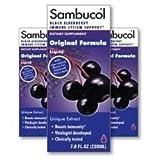 Sambucol Black Elderberry Syrup, 7.8 oz ( Multi-Pack) by Sambucol