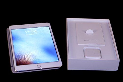 (Apple iPad Mini 4 MK8E2LL/A (128GB, Wi-Fi + Cellular, Silver) Newest Version)