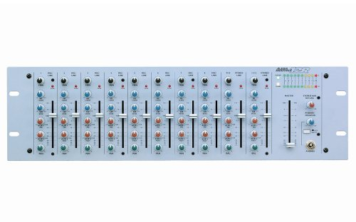 Alesis MultiMix 12R | 12-channel Mixer & Microphone Preamplifier in 3U Rack (Alesis Audio Mixer)