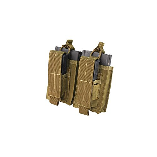Condor Double Kangaroo M14 Mag Pouch - Brown ()