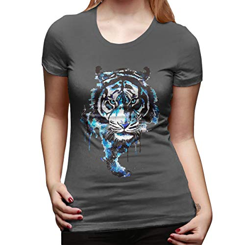Kevin Garnett Draft - Huodian The Tiger is Coming Women's Funny Graphic Short Sleeve Girls Tee Top Deep Heather