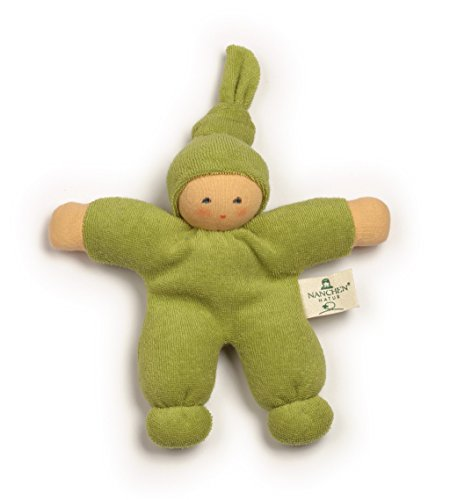 Toys Waldorf Dolls (Nanchen Small Organic Cotton Doll - Pimpel (Green))