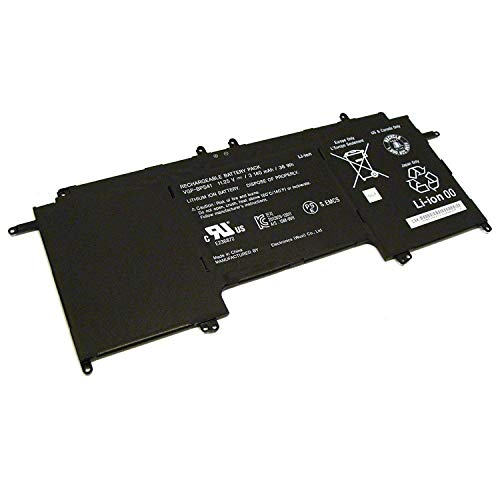 Fully New VGP-BPS41 Replacement Battery Compatible with Sony Vaio Flip 13 SVF13N SVF13N13CXB Loptop -11.25V 36Wh (Vaio Flip)