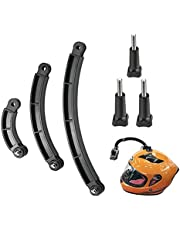 6 Stuks Helm Extension Extension Arm, Camera Verlengarmen, Camera Arm Extension, voor Camera, fiets, Bergbeklimmen