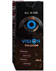 vision color Cosmetic Six Month Disposable Contact Lenses,Brown