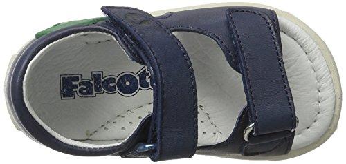 Falcotto Falcotto 1571 - Botas de senderismo Bebé-Niñas Blau (Blau)