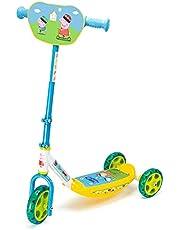 Smoby - Peppa Pig step, met 3 wielen, in hoogte verstelbaar stuur, stabiel metalen frame, eenvoudig transport, voor kinderen vanaf 3 jaar