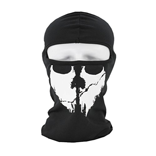 Price comparison product image Bookear 3D Face Sun Mask Tactical Motorcycle Cycling Hunting Outdoor Ski Face Mask Helmet (C)