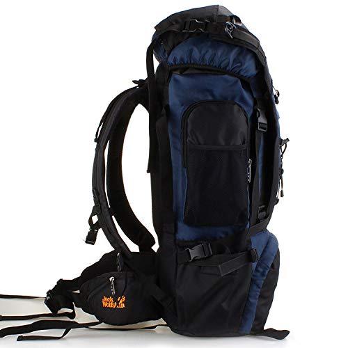 Professionale Grande Viaggio Zaini L'alpinismo Laptop Sacchetto Borse Capacità Darkblue Da Per 70l Il Zaino wUw40Aq
