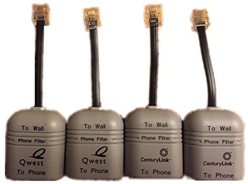 4 Pack Suttle Qwest/Centurylink DSL Line Conditioners / Filt