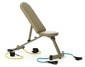 Danskin Space Saver Bench With Total Toning System and DVD