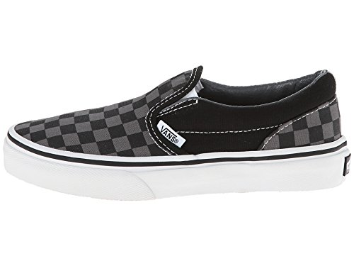 Black Slip Vans on Checkerboard Core tm pewter Classics rXdzqdAw