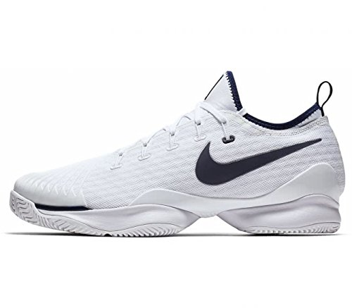 Nike Men Air Zoom Ultra React Size 10 Mens Tennis White/Binary Blue Shoes by NIKE