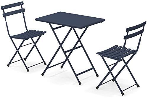 Set Arc en Ciel Emu: 2 sillas plegables Art. 314 + 1 mesa ...