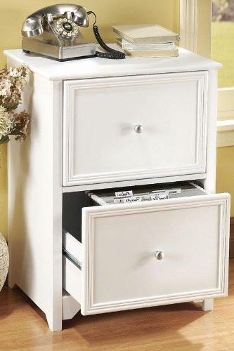 Home Decorators Collection Oxford File Cabinet, 2-Drawer, White by Home Decorators Collection