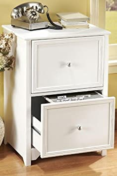 Oxford File Cabinet - 2-DRAWER - WHITE