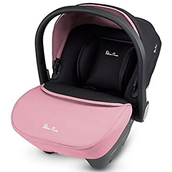 Silver Cross Simplicity Group 0 Baby Car Seat Vintage Pink Black