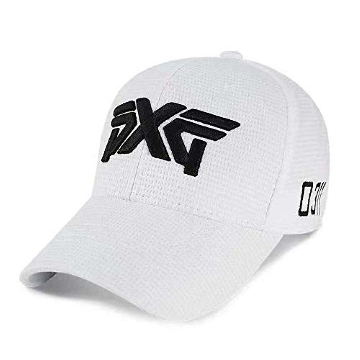[해외] PXG 0311화이트색 골프 GOLF 낚시 워킹 고루 후야구모 썬바이져 모자 남녀 겸용 차양 야구모