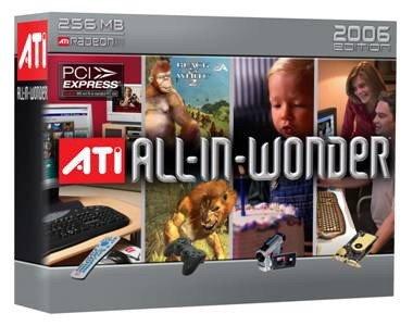 ATI All-in-Wonder 2006 Edition PCI Express ( 100-714600 ) (Radeon Mb Express X1300 Pci 256 Ati)