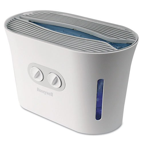 1 X NEW - Easy-Care Top Fill Cool Mist Humidifier, White, 16-7/10w x 9-4/5d x 12-2/5h - HCM750