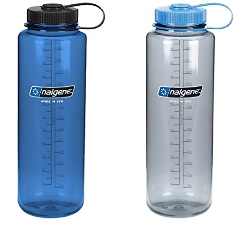 Nalgene Silo 48oz Tritan Wide Mouth Bottle – 2 Pack