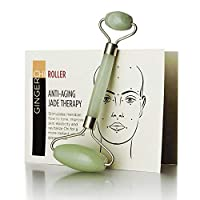 Ginger Chi Anti-Aging Jade Roller Face-Neck Massager Facial Body Eye Puffiness Treatment...