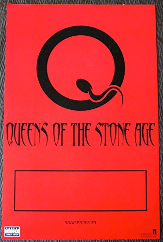 Queens of the Stone Age - Songs for the Deaf - 2-sided Advertising Poster - 11x17