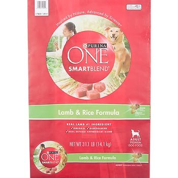 PURINA O.N.E. 178554 One Smartblend Chicken/Rice for Adult Dogs, 31.1-Pound, My Pet Supplies