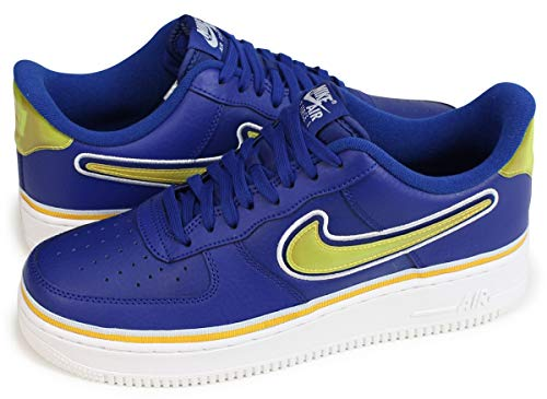 Nike Air Force 1 '07 LV8 Sport Deep Royal/University Gold (10 D(M) US) (Nike Air Force One Purple And Gold)