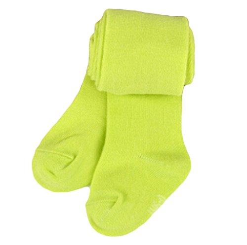 Newborn Baby Girls Tights Toddler Kids Clothing Kintting Stockings Children Pantyhose (18-24 months, Green)