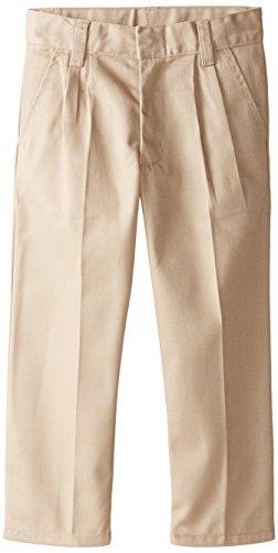 - Genuine School Uniform Boys Twill Pant (More Styles Available), Warm Khaki, 6