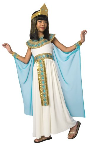 Palamon Cleopatra Child Costume White Small (4-6) -