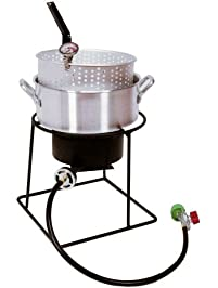 Amazon Com Fryers Outdoor Fryers Amp Smokers Patio Lawn