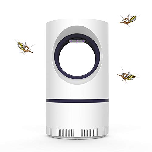 Warmsheep Photocatalytic Ultraviolet Mosquito Insect Killer Lamp,Mosquito Lamp 360 Degrees USB Rechargeable Type Low Voltage Mosquito Killer Lights for Home Outdoor Patio Yard