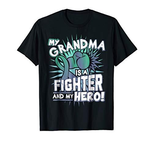- My Grandma is my Hero, ANAL Cancer Awareness T Shirt
