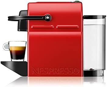 Krups Nespresso Inissia Rouge YY1531FD Independiente Máquina ...