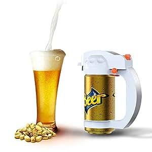 Cocoda Dispensador De Cerveza, Portátil Vibración Ultrasónica Batería Cerveza Cremosa Espuma Servidor Espumador De Cerveza Promoción De La Cerveza, Celebración del Festival