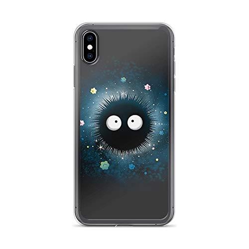 iPhone Xs Max Pure Clear Case Cases Cover Black Hole Cute Design