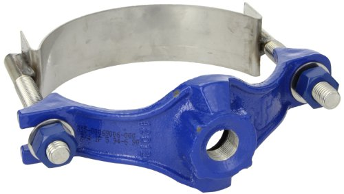 Smith blair ductile iron with stainless steel straps