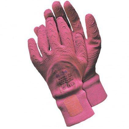 Gants de Jardinage Taille des rosiers Rose - Rose 3715