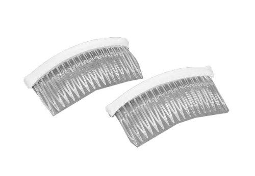 Darice VL5628, Fab Edge Haircomb Plastic 4-Inch, 2-Piece -