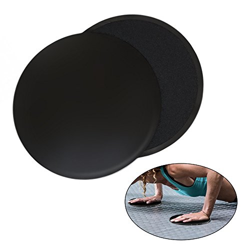 izery Core Exercise Sliders Gliding Discs for Gym, Home and Travel Total...