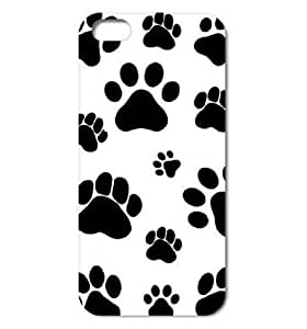 [S Series] Dog Footprints Dog Paws Case for IPhone 6 (4.7 Inch) by supermalls