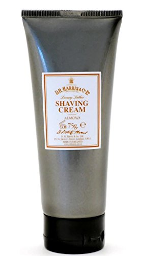D.R.Harris & Co Almond Shaving Cream Tube -